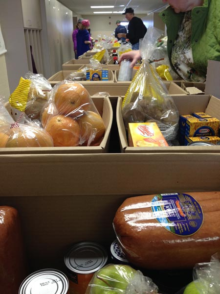 food baskets for food drive